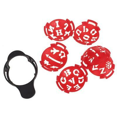 Golfer Club Golf Ball Marker Line Liner Template Drawing Alignment Tool NEW
