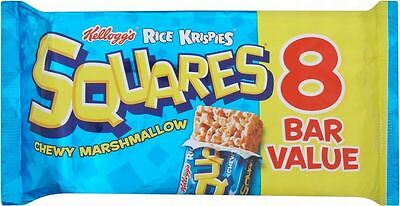 Kellogg's Rice Krispies Squares Chewy Marshmallow (8x28g)