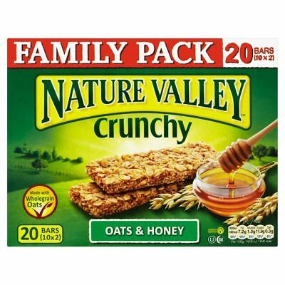 Nature Valley Crunchy Granola Bars - Oats & Honey (10x42g)