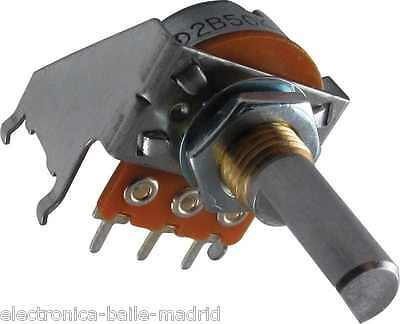 Genuine Potentiometer 50K Linear With Detent For Fender Recent Amps