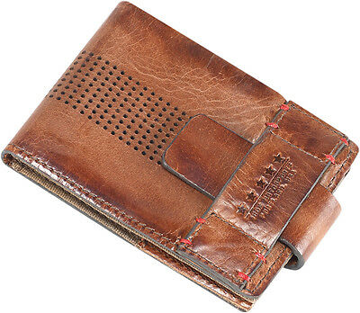 ICON 1000 Leather Motorcycle Wallet (Brown)