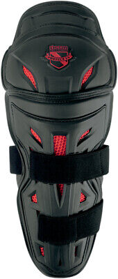 ICON Field Armor Stryker Motorcycle Knee/Shin Guards (Black) One Size