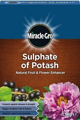 Miracle-Gro Sulphate Of Potash Natural Fruit & Flower Enhancer 1.5kg