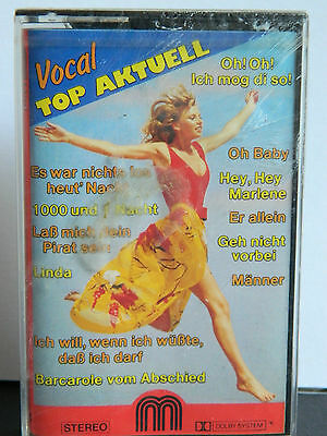 Vocal TOP AKTUELL  Schlager Sampler 12 Titel NEU OVP Kassette Tape MC Cassette