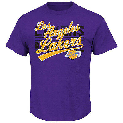 NBA Basketball T-Shirt LOS ANGELES L.A. LAKERS That's the Stuff von Majestic