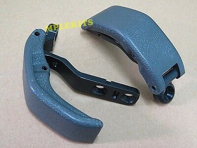 Rear Window Latch Pair For Toyota Hilux Mk3 Mighty X Pickup Truck 1989-1997 Gray