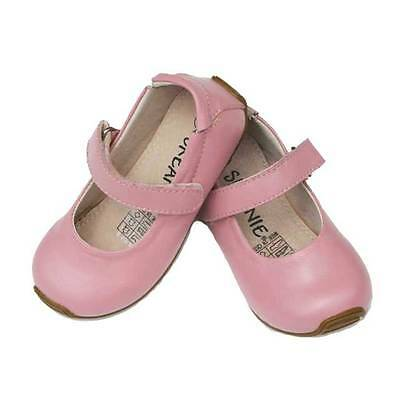 Skeanie Mary Jane PINK Toddler Kids Cute Casual Leather Soft Sole Girl Shoes