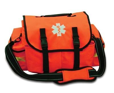NEW Orange Lightning X Small First Responder Bag w/ Dividers, Medical First Aid