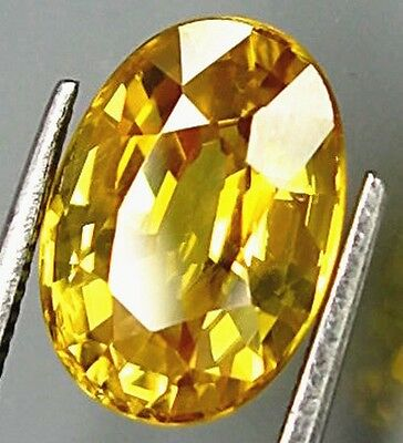 Unheated 17.50CT YELLOW SAPPHIRE 13X18MM OVAL SHAPE AAA COLOR LOOSE GEMSTONE