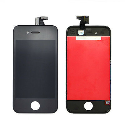 Black LCD Display Touch Screen Digitizer Assembly Replacement for iPhone 4 GSM