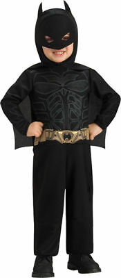 Kids Batman Toddler Costume – Kids Licensed Superhero Batman Fancy Dress Costume