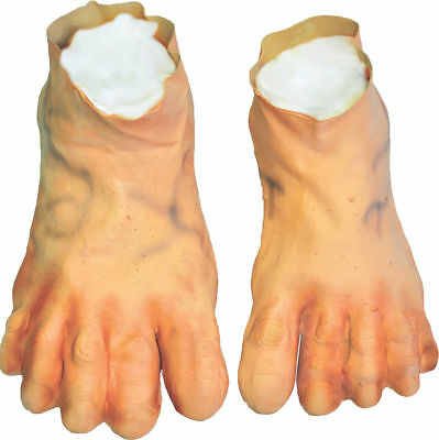Morris Costumes Accessories & Makeup Deluxe Rubber Jumbo Feet One Size. HA10