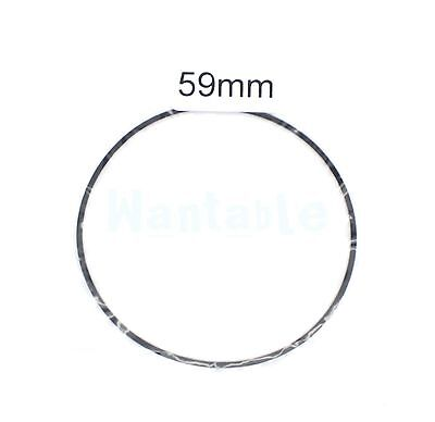 59mm Rubber Drive Belt Replacement Part for Cassette Tape Deck Recorder