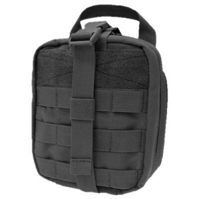 Condor Tactical Army Emt Medical First Aid Kit Pouch Airsoft Molle System Black