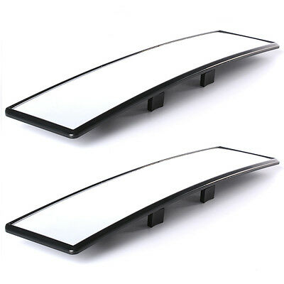 Car Rear View Panoramic Wide Angle Mirror Clip On Interior Universal MA164