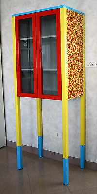 D'antibes George Sowden Memphis Design Vetrinetta Cabinet Forniture Sottsass