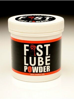 FIST Powder Lube 100gm Lubricant,Mix with Water Makes Lots,J-Lube Alternative