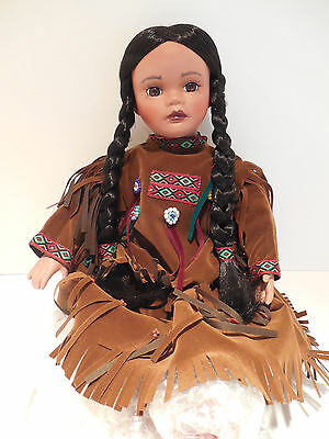 Native American Timeless Collection DOLL Maiden Warrior Indian Girl 1 TC72094