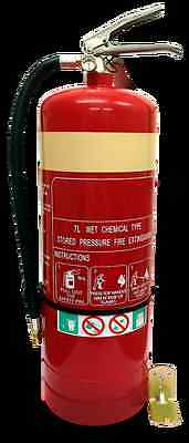 New 7L Wet Chemical Fire Extinguisher | Safety Equipment