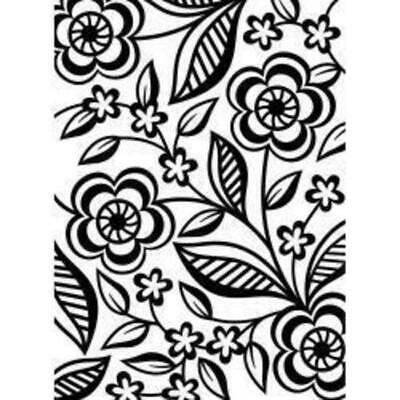 DARICE Embossing Folder Dainty Flower 10.5cm x 14.5cm