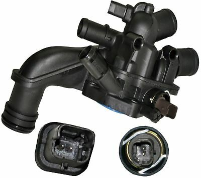 Peugeot 207 CC [2007-2015] Convertible 1.6 16V Thermostat Housing with Sensor