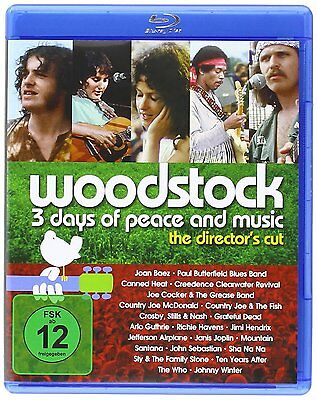 Woodstock - The Director's Cut (Blu-Ray Disc)
