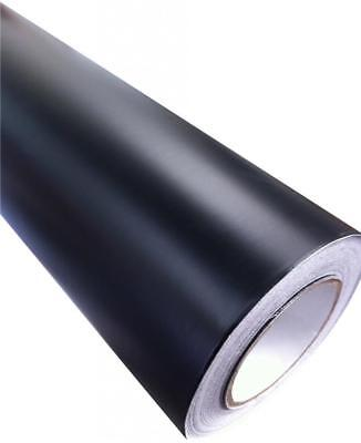 Matt Vinyl Car Wrap Black (Air/Bubble Free) 1520mm x 300mm