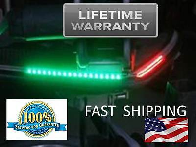 PREMIUM Quality - Bow LED Navigation Kit - Red and Green Light 12 volt Front NEW