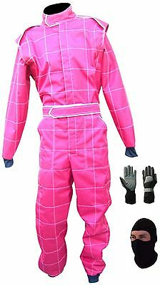 Go kart race suit CIK/FIA Level 2 approved (free gifts)