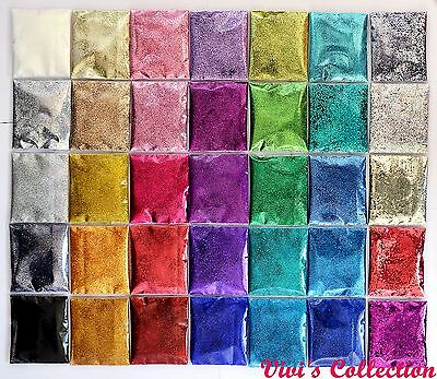 Finest Glitter Dust Powder Wine Glass Iridescent Nail Art Eyeshadow Crafts Paint