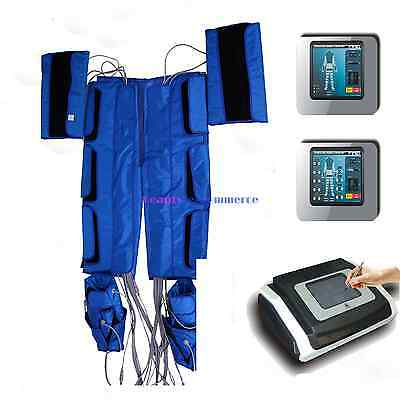 Portable Pressotherapy Lymph Drainage Slimming Machine 9 Modes Far Infrared