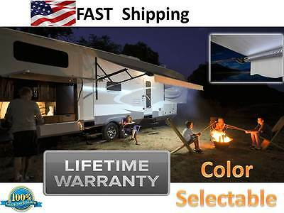 LED Motorhome RV Anwing & Porch Lights --- NEVER Burn Out ---- Lifetime Warranty