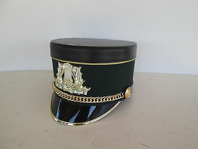 USED Green / Black Stanbury Marching Band Hat