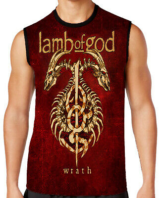 LAMB OF GOD  Ashes Of The Wake T-SHIRT MEN  ALL OVER PRINT