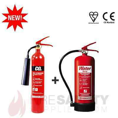 Co2/carbon Dioxide + H2O/water Fire Extinguisher, Office/shop/warehouse