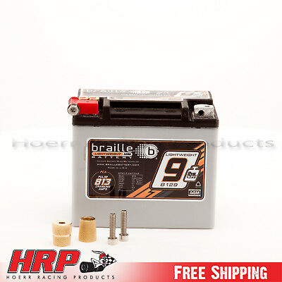 Braille Battery B129 9.5 lb. Racing Battery