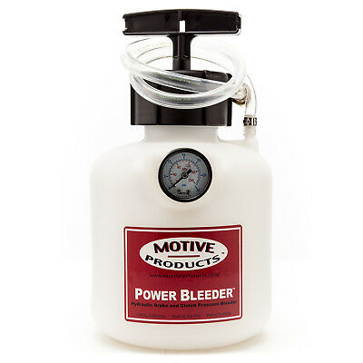 Motive Products Round Universal Power Bleeder w/ Adapter PN: 0101