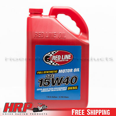Red Line 15W40 Synthetic Diesel Oil - 1 Gallon - PN: 21405