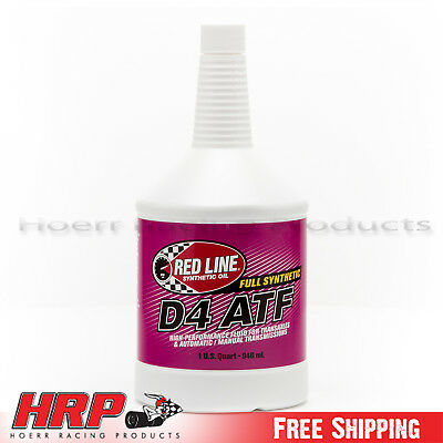 Red Line D4 Automatic Transmission Fluid (ATF) - 1 Quart - PN: 30504