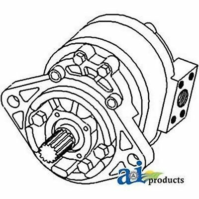 D1nn600b Ford Tractor Parts Hydraulic Pump 4500 535 550