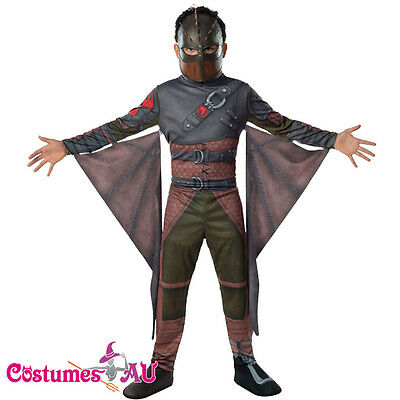 Licensed How to Train Your Dragon 2 HICCUP Kids Boys Costume Child Party Outfit