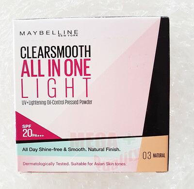 Maybelline Clear Smooth SHINE-FREE Face Powder SPF 18 # 03 Natural