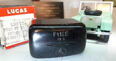 Land Rover Series 1 2 Genuine Lucas Fuse Fusebox Cover ONLY NOS 219078 261502