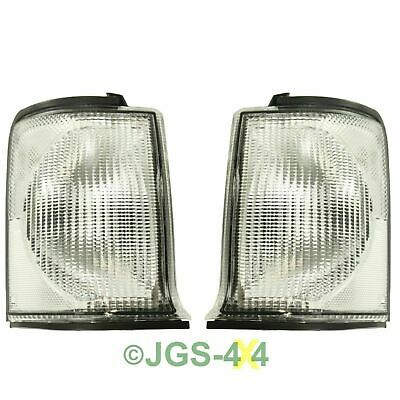 Land Rover Discovery 2 Front Clear Indicator Lamps - XBD100870 + XBD100880