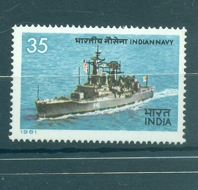 Navires Militaires - Navy India 1981