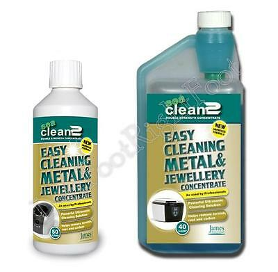 JPL Sea Clean 2 Double Strength Concentrated Cleaning Fluid 500ml or 1L / 1Litre