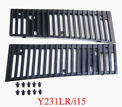 Cowl Top Grille Finishers RH&LH for Nissan D21 Hardbody Pickup Truck Pathfinder
