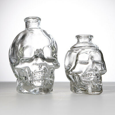 Gothic Skull Head Decanter Drinking Bottles Whisky Drinking Perfume Incense