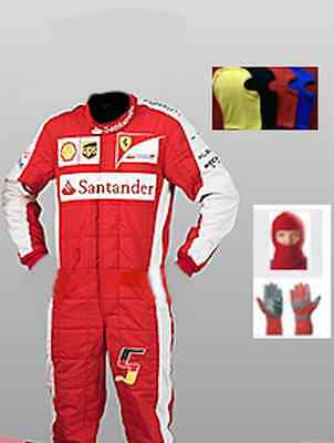 Ferrari Go kart race suit CIK/FIA Level 2 approved 2015