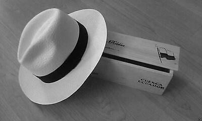 GENUINE ETHICAL TRADE BARRANCO ROLLING PANAMA HAT 5 SIZES MED-XXXL fedora straw